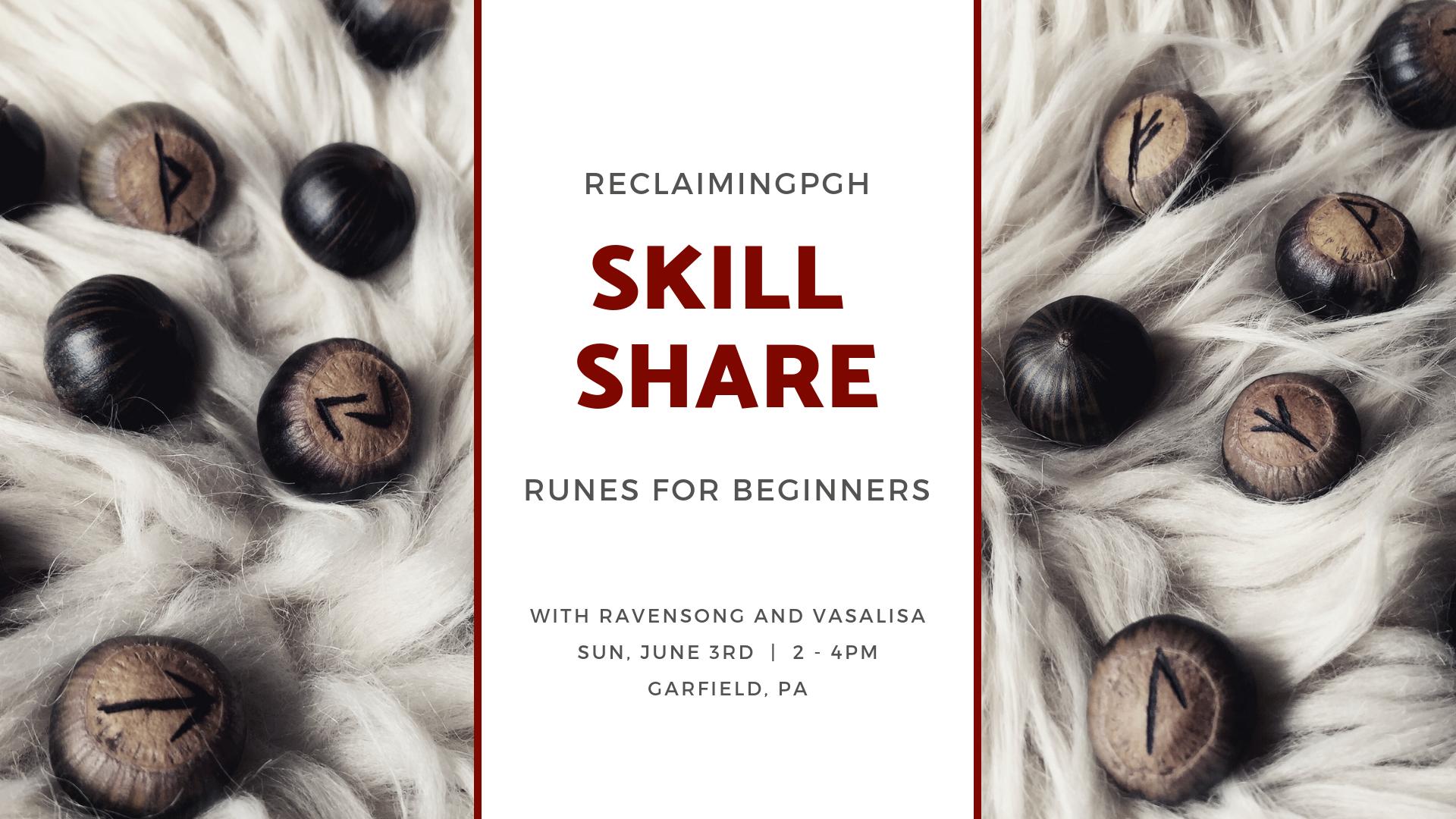 skill share_ runes