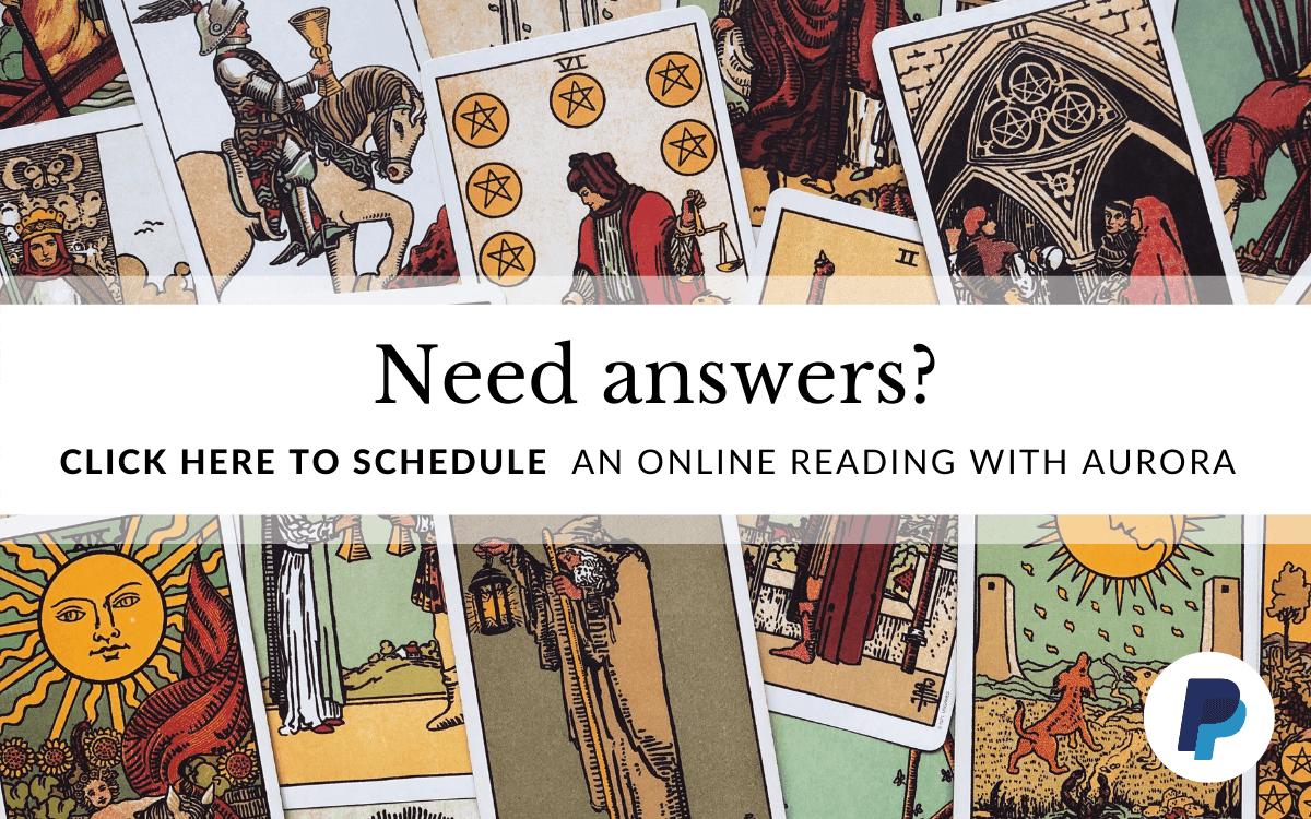 Schedule an online tarot reading
